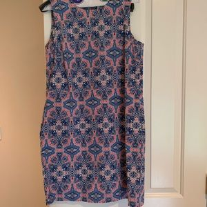 New Cotton shift dress. Size 6